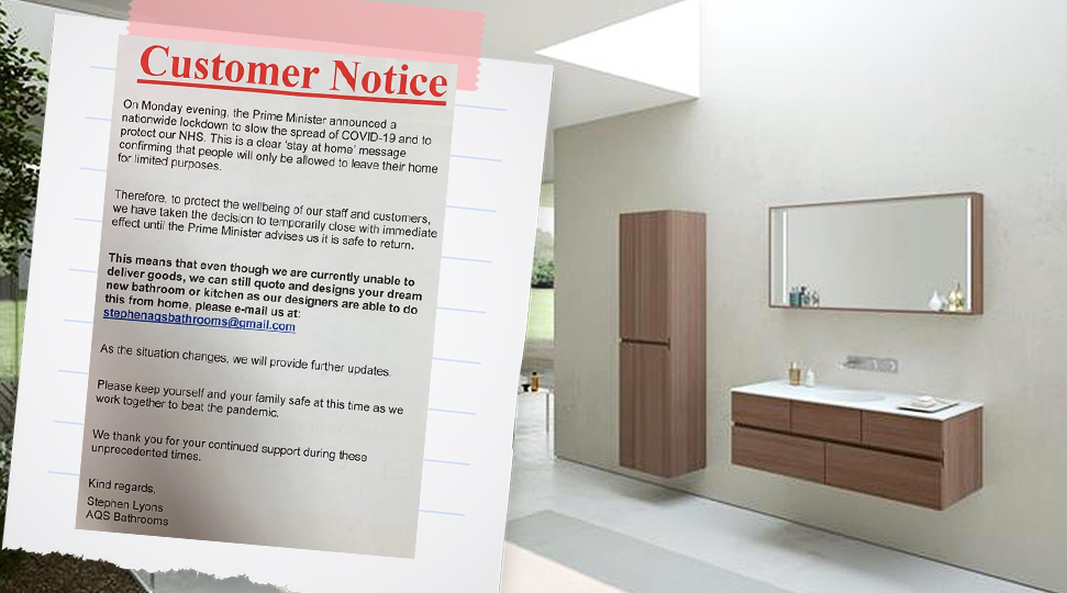 Customer Notices - COVID-19