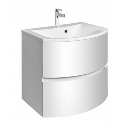 Bauhaus - Svelte Vanity Basin 600mm With Overflow 1TH