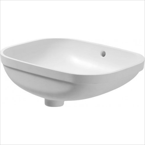 Duravit - Bathrooms - D-Code Undercounter Basin 560mm