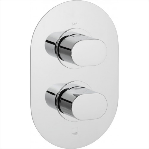 Vado - Bathrooms - Life Single Outlet Trim For 148D Thermostatic Valve