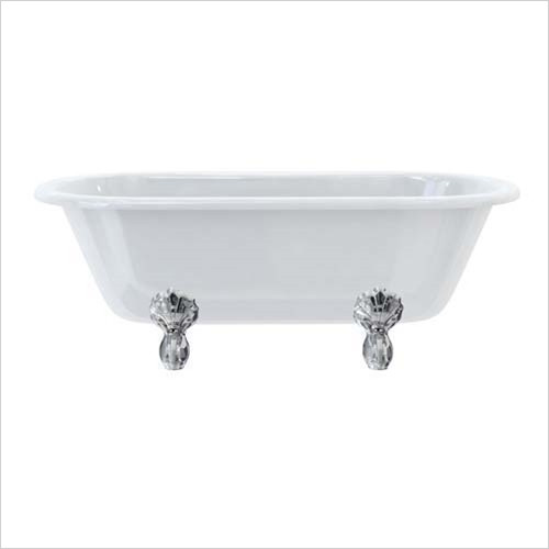 Burlington - Bathrooms - Windsor Double End Bath 0TH 1700 x 750mm