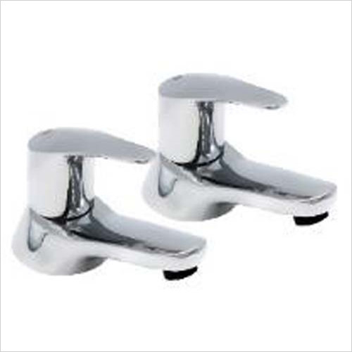 Pegler - Bathroom - Lujo Basin Pillar Taps (Pair)