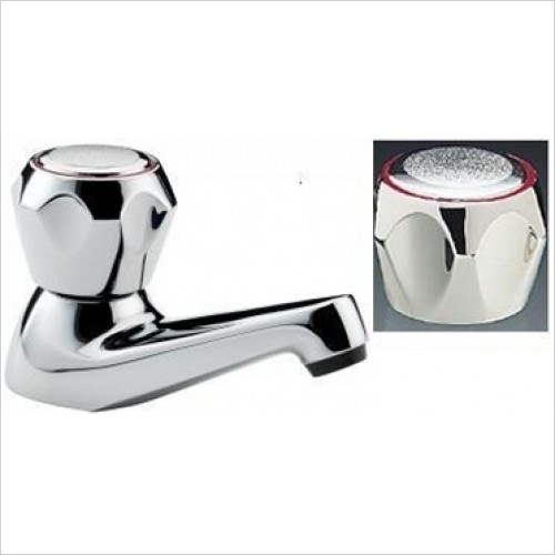 Tremercati - Capri Pair Of Bath Taps With Mazak Heads