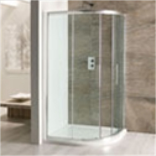 Eastbrook - Volente Offset Quadrant Enclosure 1000 x 700mm