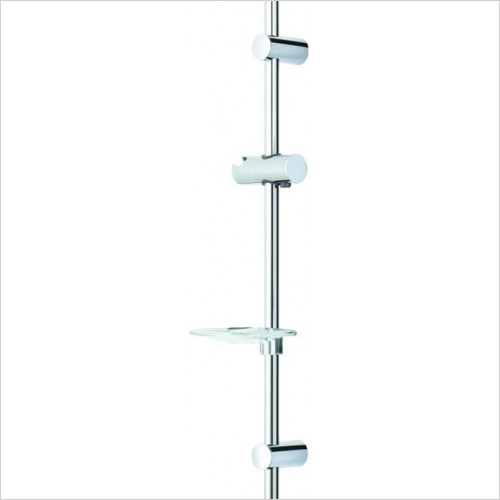 Roper Rhodes Showers - Wave Adjustable Riser Rail