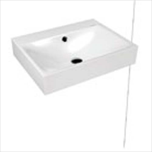 Kaldewei - Advantage Silencio Wall Hung Basin 60 x 46cm 1TH