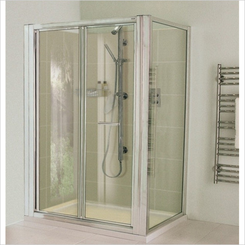 Aqata - ES Bi Fold Door, Corner Option 900x900mm LH