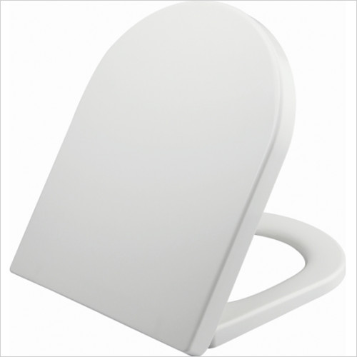 Scudo Bathrooms - D Shape Soft Close WC Seat