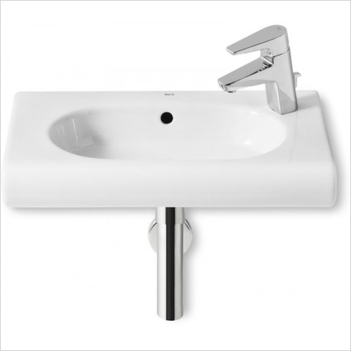 Roca - Meridian-N Compact Wall Hung Basin 550 x 320mm 1TH RH