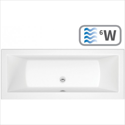 Moods - Solarna Double End 1700 x 700mm 0TH Bath