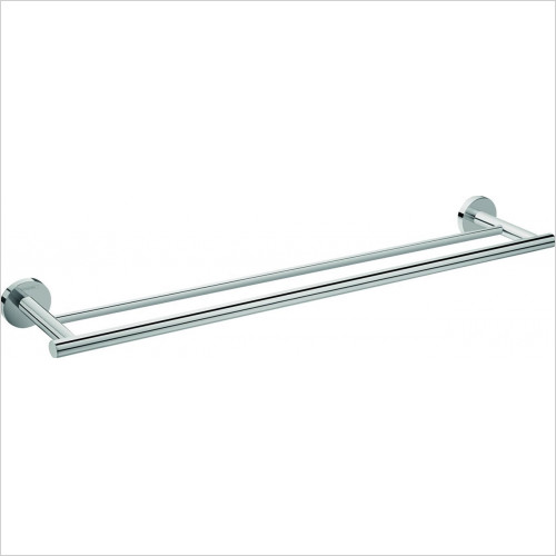 Hansgrohe - Bathrooms - Logis E Double Towel Holder