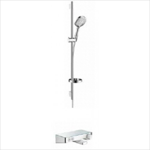 Hansgrohe - Bathrooms - Exposed Select Bath / Shower Valve with Raindance Rail Kit