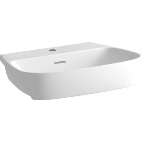 Moods - Tilia 605 x 410mm 1TH Semi Recessed Basin