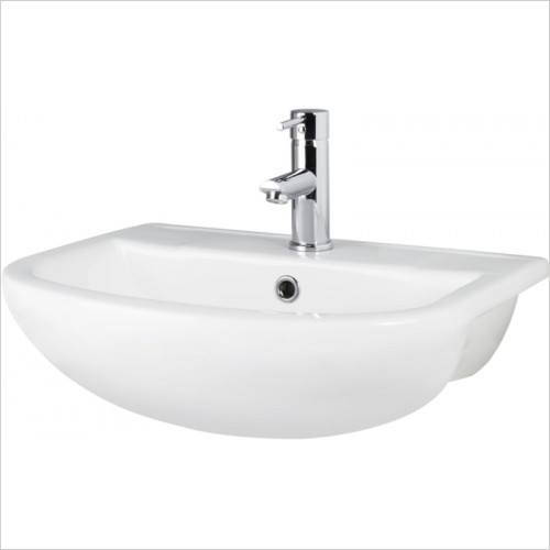 Hudson reed - Harmony Semi Recessed Basin 1TH