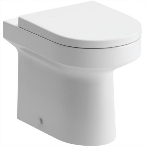 Moods - Laurus2 Back To Wall WC With Soft Close Seat