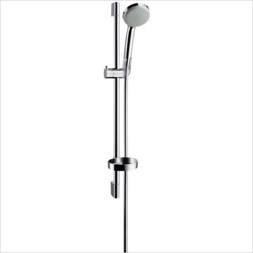 Hansgrohe - Bathrooms - Croma 100 1Jet /Unica'C Set 0.65m