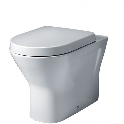essentials - Ivy Back To Wall WC Pack Including Seat