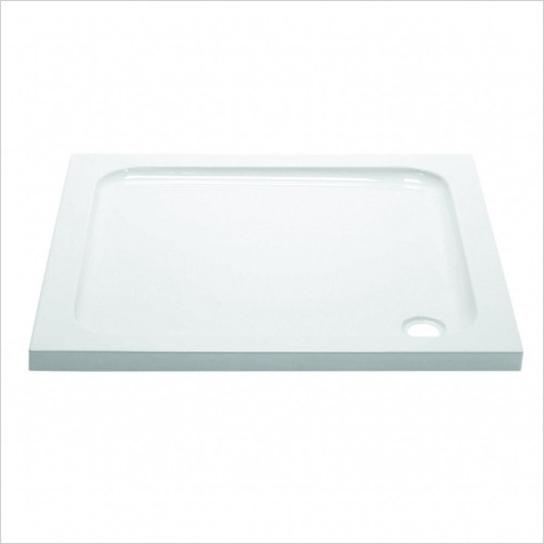 Aquadart - Waifer Stone Square Tray 800 x 800mm With Upstands