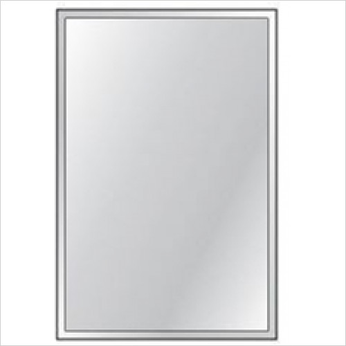 HIB - Bevelled Mirror 4mm Float Glass 45 x 30cm - Priced Per Pack