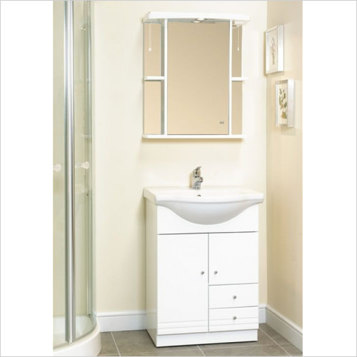 Eastbrook - 600mm Cabinet Mirror (No Cornice)