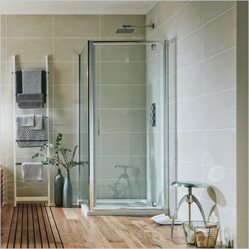 Scudo Bathrooms - i6 Shower Enclosure Pivot Door