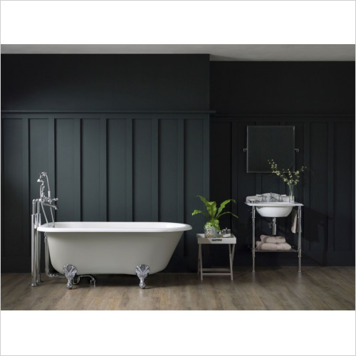 Victoria & Albert - Wessex Freestanding Bath With Overflow