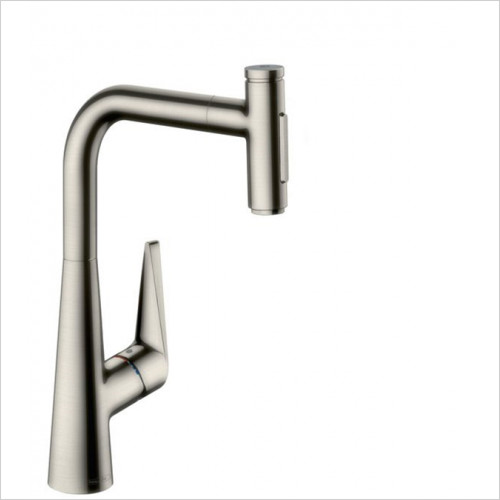Hansgrohe - Bathrooms - M5117-H300 - Single Lever Kitchen Mixer With Pull-Out Spray