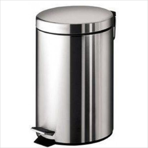 Bathroom Origins - Gedy Pedal Bin 3 Litre