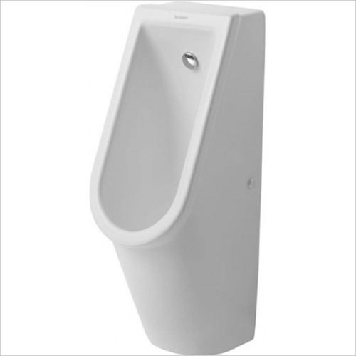 Duravit - Bathrooms - Starck 3 Urinal With Nozzle Concealed Inlet With Fly