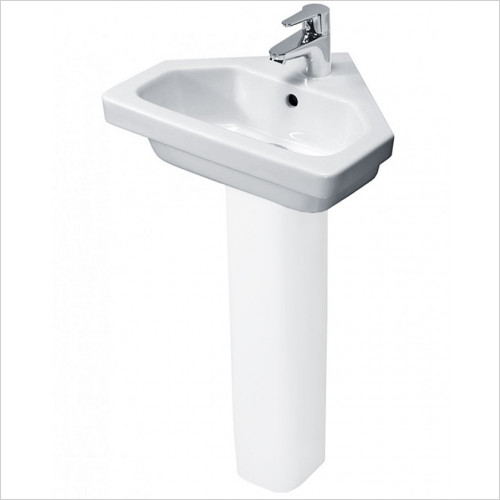 essentials - Ivy Cornre Basin 450mm 1TH
