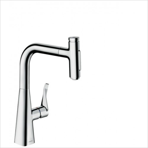 Hansgrohe - Bathrooms - M7117-H240 - Single Lever Kitchen Mixer With Pull-Out Spray