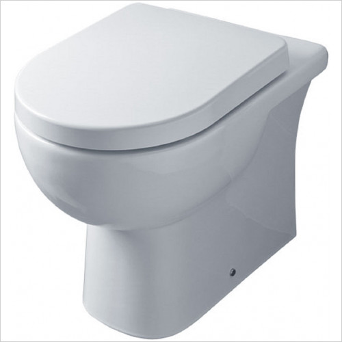essentials - Lily Back To Wall WC Pan