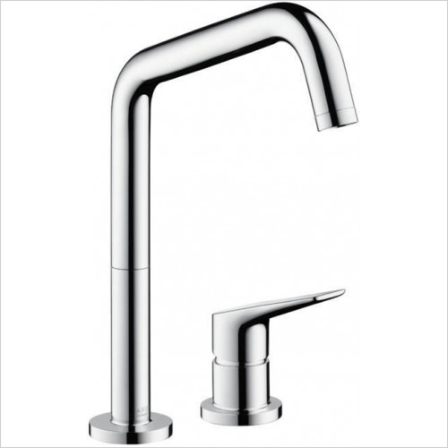 Hansgrohe Axor - Bathrooms - Citterio M 2-Hole Kitchen Mixer With Swivel Spout