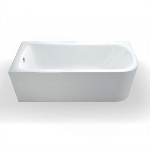 Cleargreen - Viride Offset Bath 1800 x 750mm LH