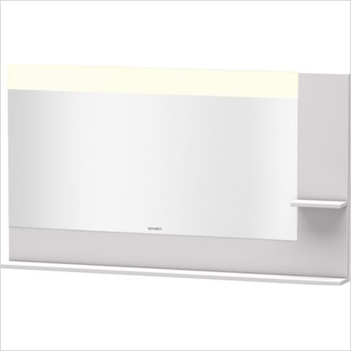 Duravit - Bathrooms - Vero Mirror With Shelves Right Side & Below 800x1400x142mm