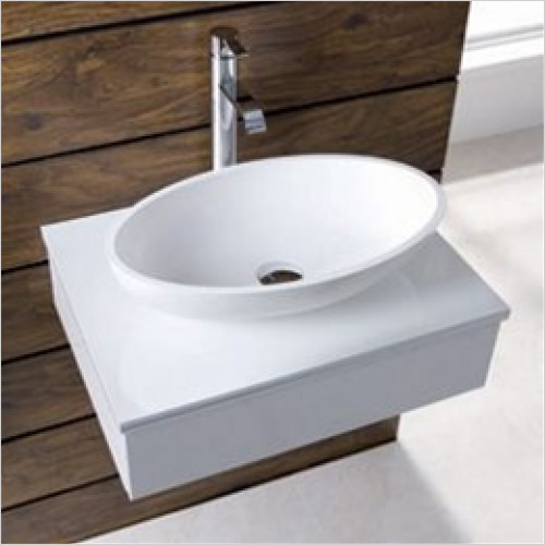 Eastbrook - Pricilla Sit On Basin 510 x 300mm