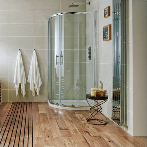 Scudo Bathrooms - i6 Double Door Quadrant Shower Enclosure