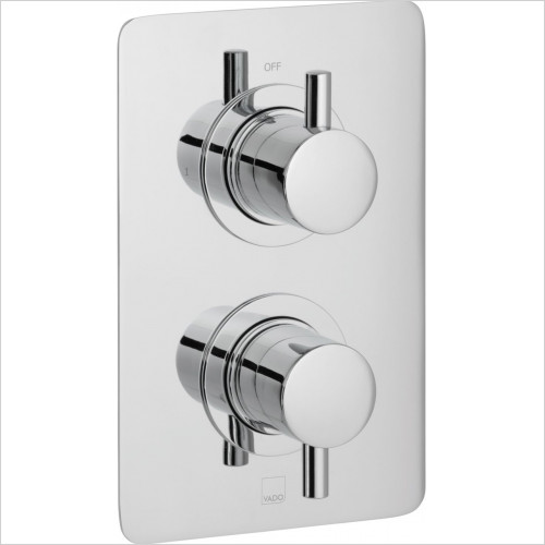 Vado - Bathrooms - Celsius Square Single Outlet Trim For 148D Thermo Valve