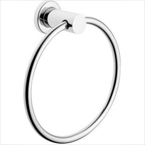 Vitra Bathroom Collection - Ilia Towel Ring