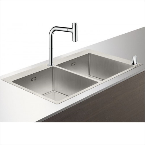 Hansgrohe - Bathrooms - C71-F765-10 Sink Combination 370 x 370mm