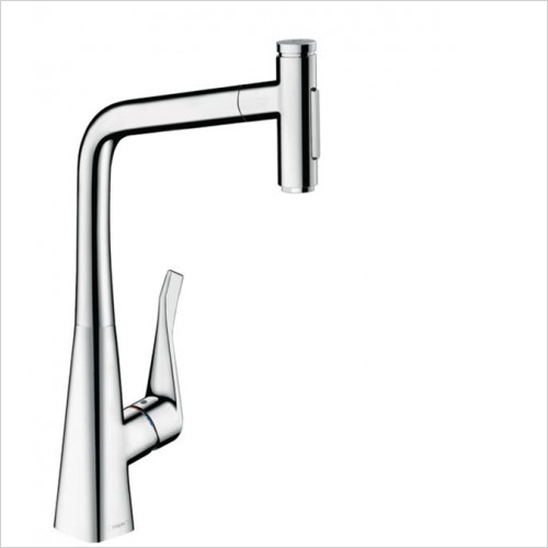 Hansgrohe - Bathrooms - M7117-H320 - Single Lever Kitchen Mixer With Pull-Out Spray