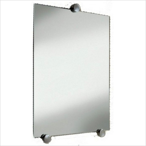 Inda - Accessories - 60 x 45cm Mirror With Satin Frieze (5mm Glass)