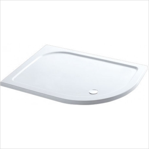 Eastbrook - Volente Offset Quadrant ABS Stone Resin Tray 1000 x 700mm RH