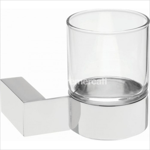 Tremercati - Edge Wall Mounted Glass Holder