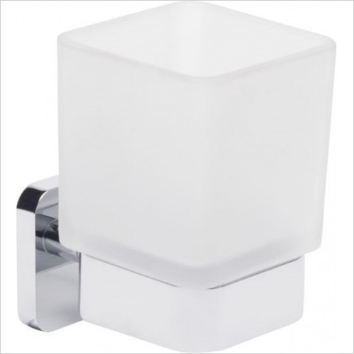 Roper Rhodes Accessories - Ignite Frosted Glass Toothbrush Holder