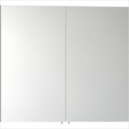 Vitra Bathroom Collection - Classic Mirror Cabinet 80cm