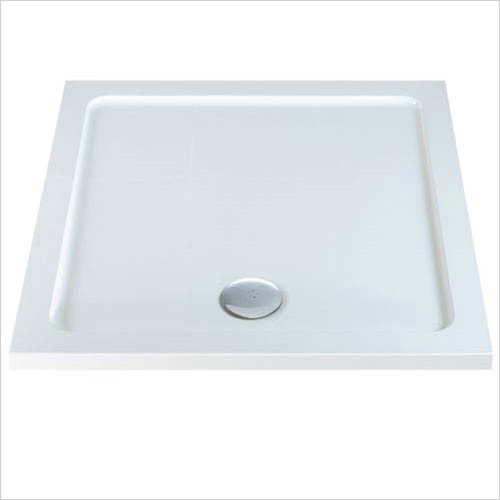MX Trays - ABS Stone Resin Square Shower Tray 700 x 700mm