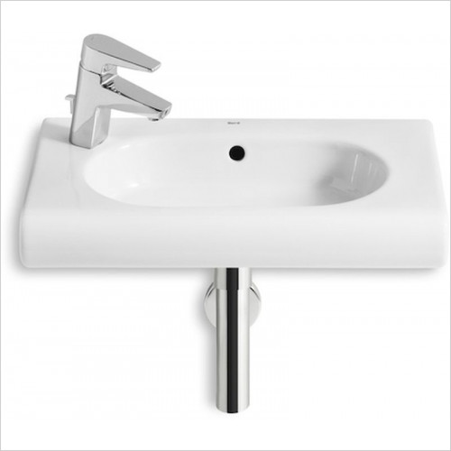 Roca - Meridian-N Compact Wall Hung Basin 550 x 320mm 1TH LH