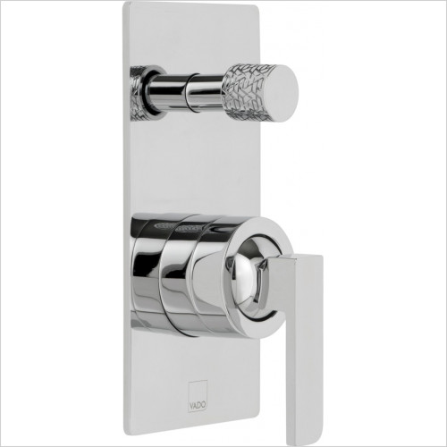 Vado - Bathrooms - Omika Concealed Single Lever Wall Mounted Manual