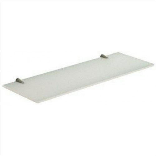 Bathroom Origins - Gedy Artemis Glass Shelf 45cm